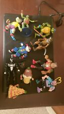 Vintage TMNT Lot and other Figures  with Case NR