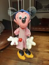 RARE LARGE PELHAM PUPPET SHOP DISPLAY MINNIE  MOUSE 24 INCHES HIGH