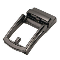 Men's Automatic Slide Buckle Replacement Alloy Ratchet Leather Belt Buckle
