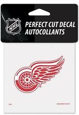 """(HCW) Detroit Red Wings Perfect Cut Color 4""""x4"""" NHL Decal Sticker *FREE SHIP"""