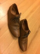 Redherring BROWN LEATHER LACE UP SHOES MENS UK SIZE 8