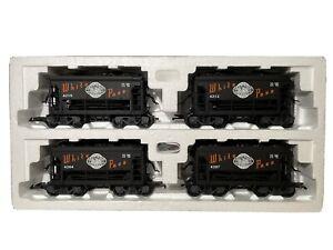 LGB 42040 Set, 4 Güterwagen, White Pass & Yukon Railroad, G scale