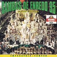 SAMBAS DE ENREDO 95 - CD - GRUPO ESPECIAL