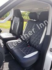 VW TRANSPORTER T5 (2004-2015) Front Single & Double Leatherette Seat Covers