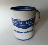 RARE LOUISVILLE STONEWARE KENTUCKY  TRAILER COFFEE MUG SINCE 1936 JOHN B TAYLOR