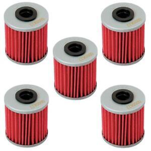 Hiflo 5 Pack Oil Filter Beta EVO 250 300/ Kawasaki KX250F/ RMZ250/450