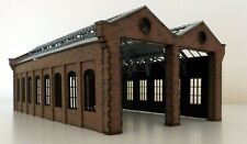 Modelux Victorian Double Road Engine Shed