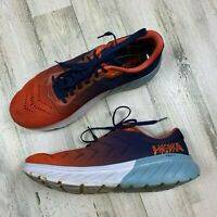 Hoka One One Blue/Orange Mach 2 Men's Size 11.5 Running Shoe