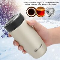 400ml Stainless Steel Travel Mug Coffee Tea Vacuum insulated Thermal Cup Bottle