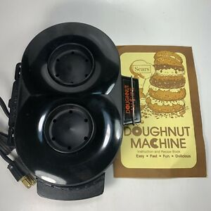 Vintage Sears Doughnut Machine Donut Shop at Home With Recipe Booklet Tested