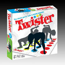 Funny Twister The Classic Game With 2 More Body Moves Hasbro Family Party Board