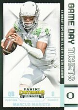 2015 Contenders Draft Picks Game Day Tickets #31 Marcus Mariota Oregon Ducks