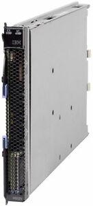 IBM HS22V BladeServer 2 x Xeon X5670 2.93GHz 64GB RAM  QLogic 8GBFC 500GB SSD