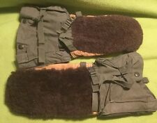 Vintage ~ 1949 ~Military ~ Mittens ~ Extreme ~ Arctic Cold ~ Size Small