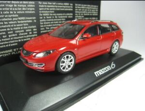 Mazda 6 FW 2008 Red 1:43 Norev 800680 Extremly Rare