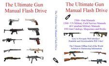 The Ultimate Gun Manual Flash Drive - 4000+ Firearm & Us Service Field Manuals