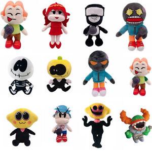 Friday Night Funkin Plush Toy Soft Doll Girlfriend Pico Whitty Monster Skid Pump