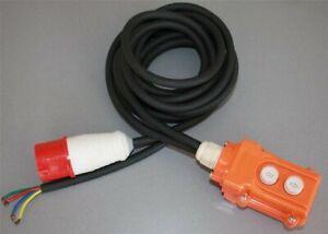 Drehrichtungsschalter XT20 Polumschalter fertig mit 380 Volt Stecker u. Kabel