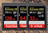 SanDisk Ultra EXTREME PR0 SD card 64GB /128GB Class10 R170mb/s USH-1 for Camera