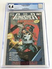 MARVEL COMICS PUNISHER ARMORY #1 CGC GRADE 9.4 White Pages 7/90 Volume One