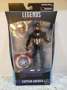 "** WORTHY CAPTAIN AMERICA** Marvel Legends Avenger 6"" Exclusive, BRAND NEW!"