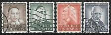 GERMANY (W) - 1953,  Humanitarian Relief Fund - Set of 4, Used.  Cat £130