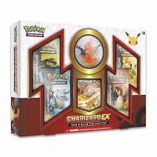 POKEMON Generation Red Blue Collection Charizard Box Gift Set SEALED!