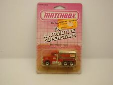 "MATCHBOX - MB56 - PETERBILT TANKER "" GETTY "" - 1981 - BOITE - ANCIEN -"