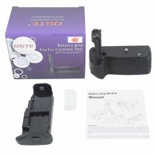 DSTE BG-E14 Battery Grip for Canon 70D 80D 90D DSLR Camera