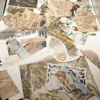 Vintage Animals Ephemera lot paper craft art junk journaling nature prints