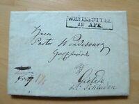 BS-Vorphilabrief 1826 aus ADENSTEDT/PEINE, Stempel WOLFENBÜTTEL - Inhalt 1120