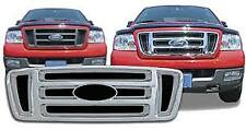 Ford F-150 2004-08 NEW Grille Insert With Emblem Cutout Bar Style IWCGI/18