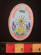 1992 Windmill Century Tailwinds Bicycle Ride California Patch 60C1