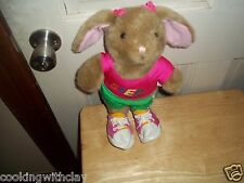 STEP IT UP PLYOMETRIC WORKOUT PLUSH DOLL FIGURE WEIGHT LOSS BUNNY RABBIT TOY