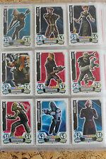 Star Wars Force Attax Karten Serie 3 Nr. 2- 120     - 5 Karten zum Aussuchen