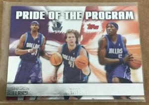 🏀 Topps 2006-07 - Pride of the Program - Mavericks- Nowitzki,Terry,Howard #PP7