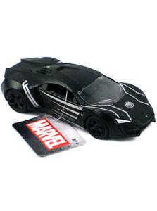 Jada Toys Die-Cast Metal Lykan Hypersport Black PantherModel Car 1/32 Marvel New