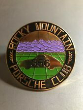 Porsche 356 Rocky Mountain Club Grill Badge RARE!! Awesome L@@K