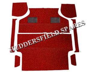 Classic Mini 8 piece deluxe full red carpet set, NEW