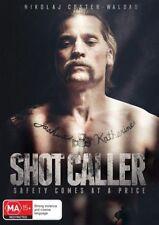 SHOT CALLER DVD, NEW & SEALED, 2018 RELEASE, REGION 4, FREE POST