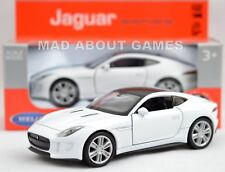 JAGUAR F-TYPE COUPE 12 cm Opening Doors Pull Back & Go Metal Diecast Toy Car