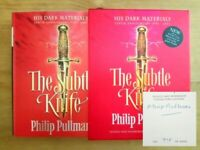 SIGNED LIMITED COLLECTOR'S EDITION THE SUBTLE KNIFE. PHILIP PULLMAN. FIRST / 1ST
