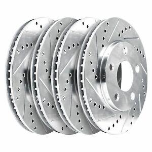 For 2005-2014 Infiniti FX35,FX45,FX37,QX70 HartBrakes Full Kit  Brake Rotors