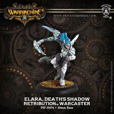 Privateer Press Warmachine Retribution Elara, Death's Shadow Warcaster PIP 35076