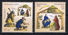 2369-2370 ** BRD 2003, Weihnachten