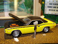 1970 PLYMOUTH AAR CUDA LIMITED EDITION MUSCLE CAR 1/64 GREENLIGHT HOT!!