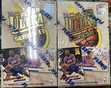 2x Lot 1993-94 Fleer Ultra Series 2 Basketball Factory Sealed Hobby Box (Jordan)
