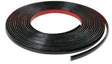 25mm x 5m Gloss Black Body Door Bumper Moulding Strip fits LAND ROVER