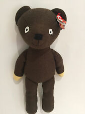 "Grand TY MR BEAN TEDDY-Soft Plush Toy-environ 15"" (38 CM) Buddy Taille-Bnwt"