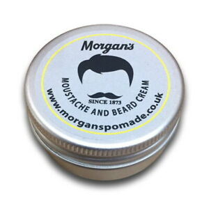 Pocket Size 15g - MORGAN'S Moustache & Beard Cream/Moustache & Bartcreme